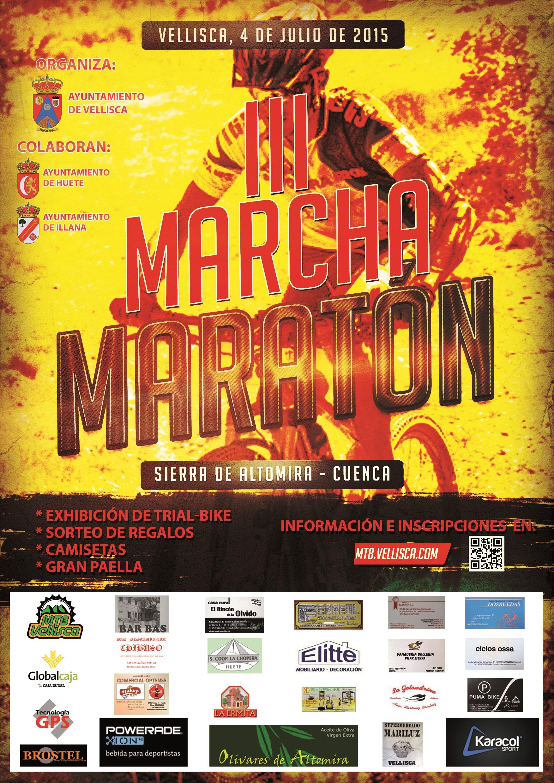 Cartel III Marcha Maraton Definitivo
